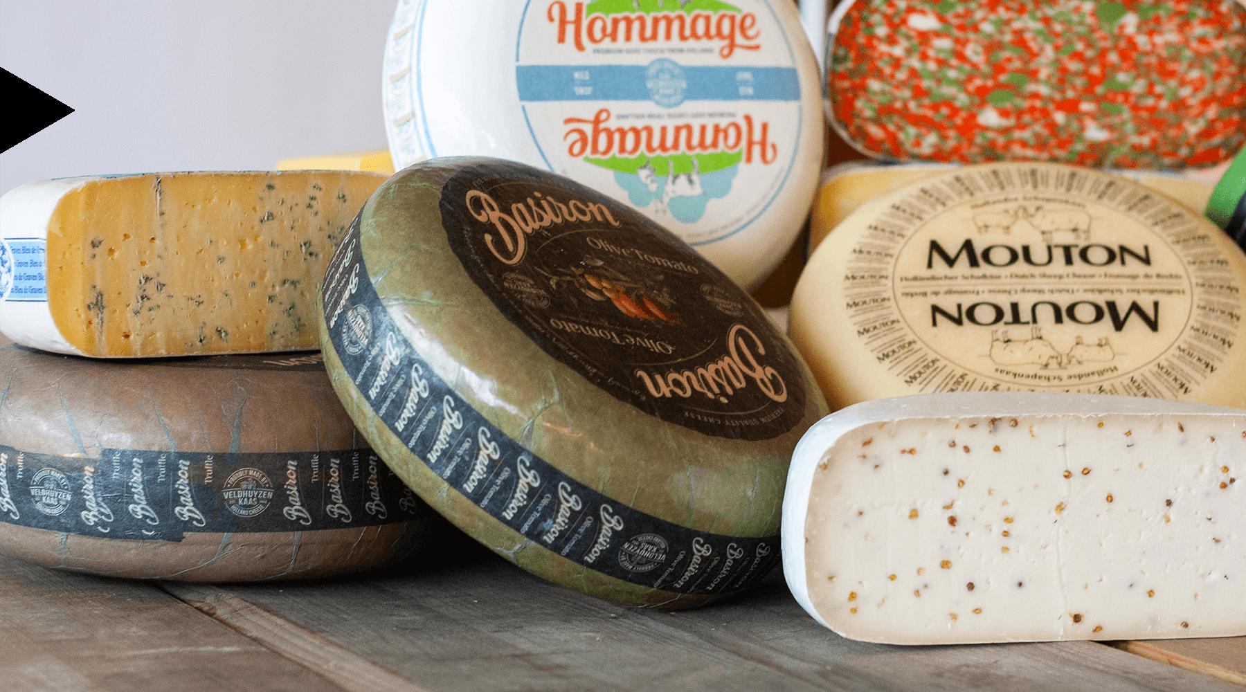 MAAZ Cheese assortiment Hollandse specialiteiten kaas