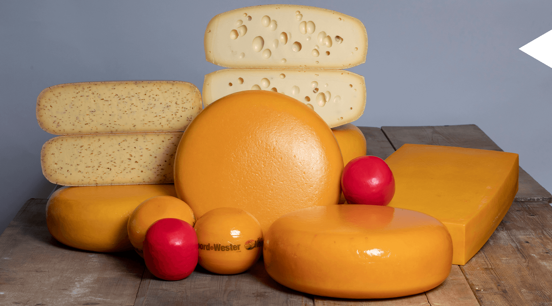 MAAZ Cheese assortiment goudsekaas