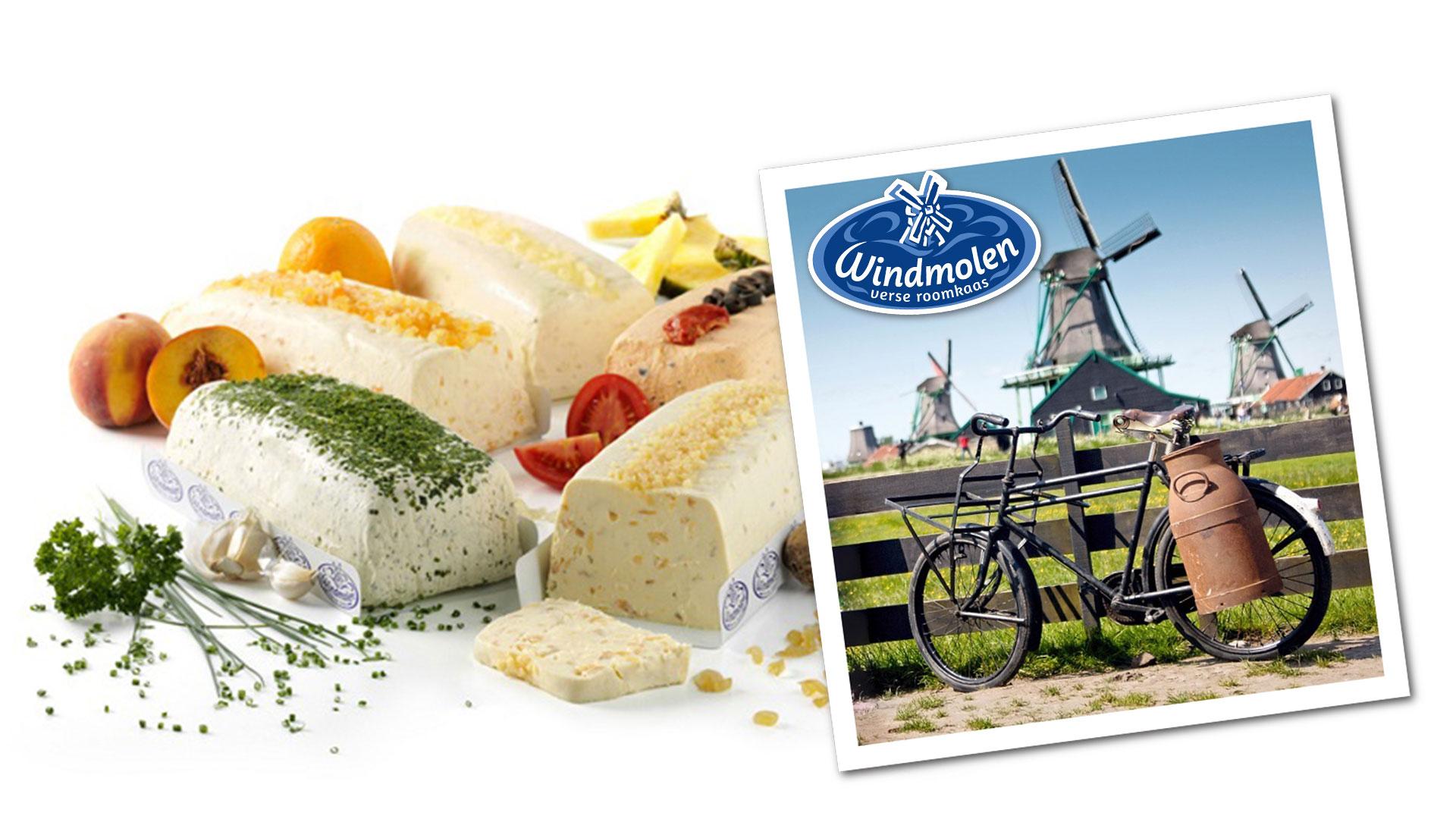MAAZ Cheese - Windmolen roomkaas