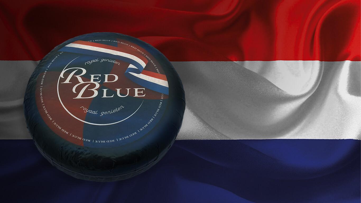 MAAZ Cheese Red Blue - nederlandse blauwaderkaas